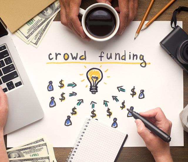 Crowdfunding-Concept